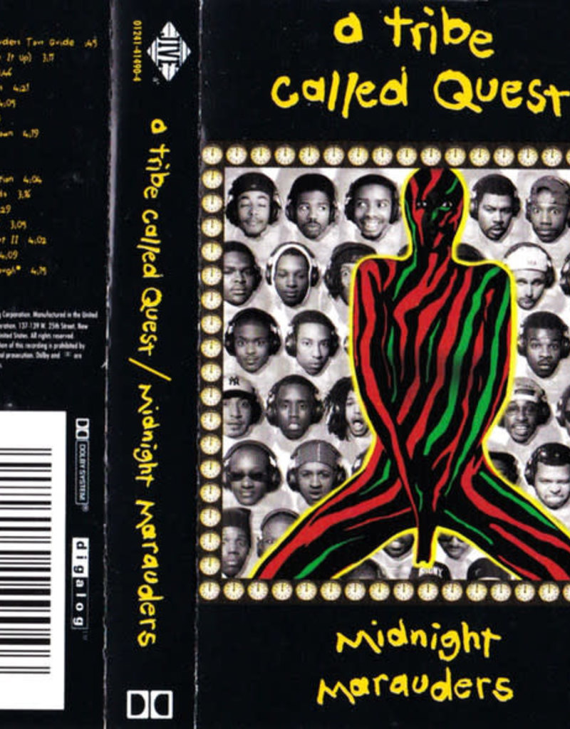 Used Cassette A Tribe Called Quest- Midnight Marauders