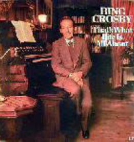 Used Vinyl Bing Crosby- That's What Life Is All About