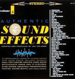 Used Vinyl Jac Holzman- Authentic Sound Effects Vol 5