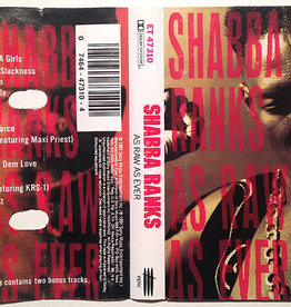 Used Cassette Shabba Ranks- As Raw As Ever