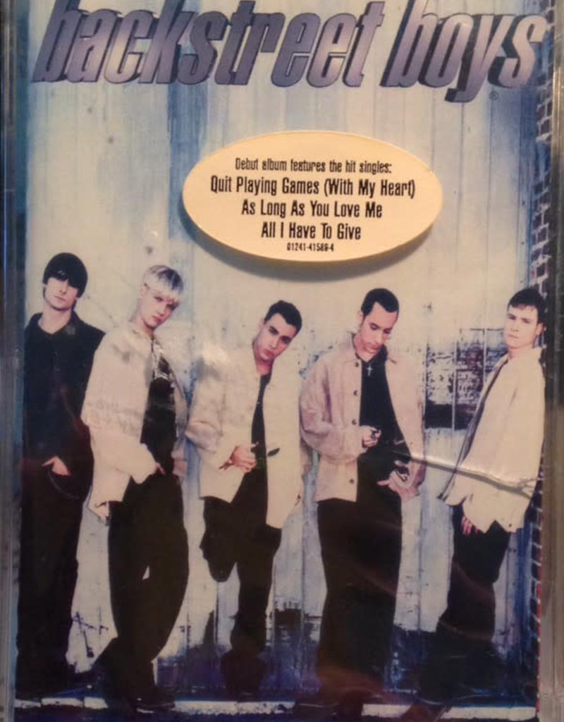 Used Cassette Backstreet Boys- Backstreet Boys