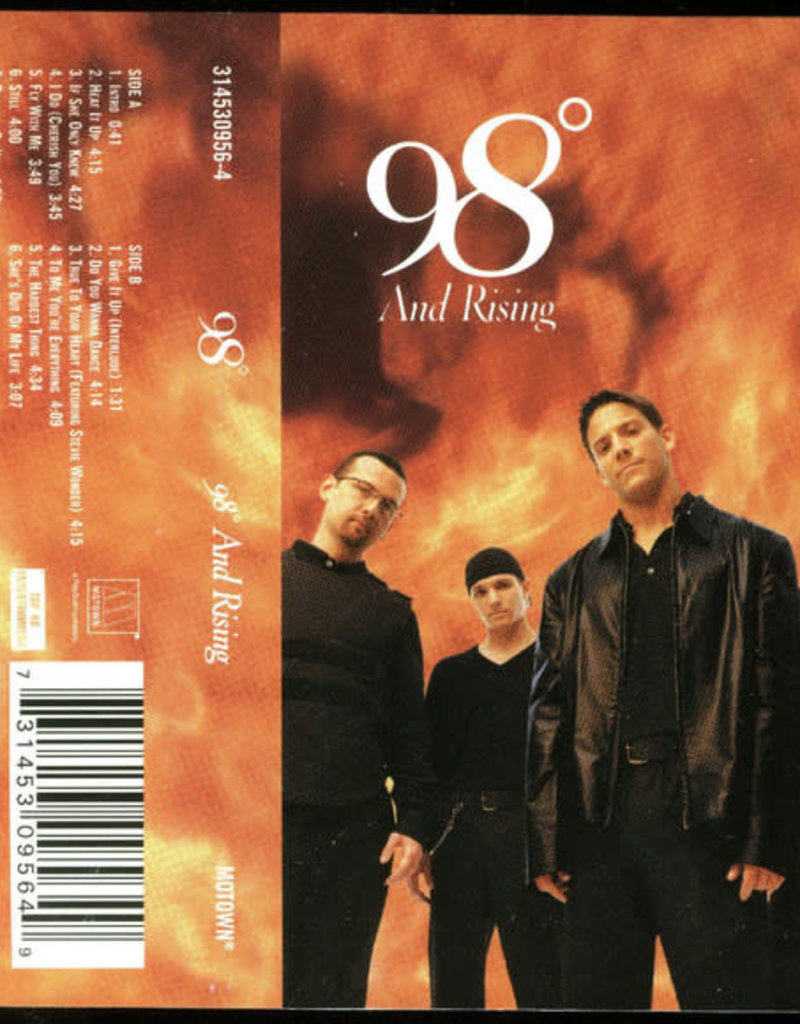 Used Cassette 98 Degrees- 98 And Rising