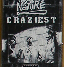 Used Cassette Naughty By Nature- Craziest