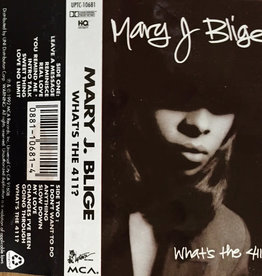 Used Cassette Mary J. Blige- What's The 411?