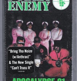 Used Cassette Public Enemy- Apocalypse 91... The Enemy Strikes Back