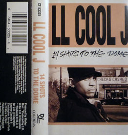 Used Cassette LL Cool J- 14 Shots To The Dome