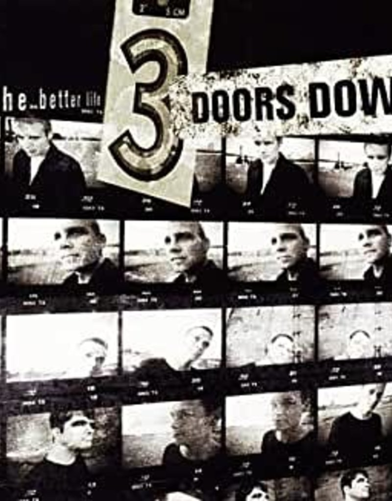 Used CD 3 Doors Down- A Better Life