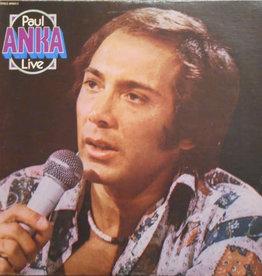 Used Vinyl Paul Anka- Live