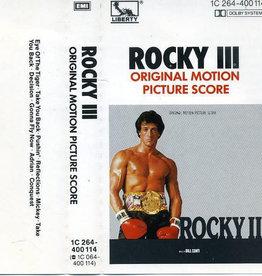 Used Cassette Rocky III Soundtrack