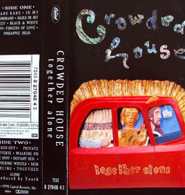 Used Cassette Crowded House- Together Alone