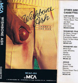 Used Cassette Wishbone Ash- There's The Rub