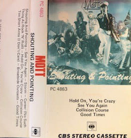 Used Cassette Mott- Shouting and Pointing