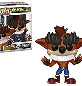 Collectibles Funko Pop Fake Crash Bandicoot (GS Exclusive) (Box Damage)