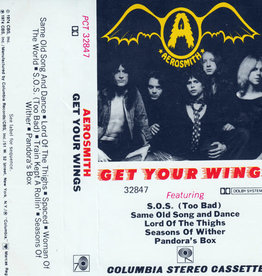 Used Cassette Aerosmith- Get Your Wings