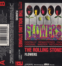Used Cassette Rolling Stones- Flowers