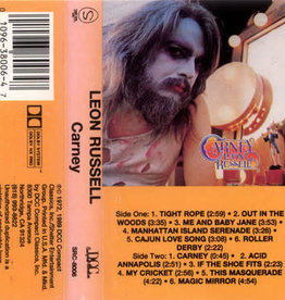 Used Cassette Leon Russell- Carney