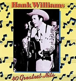 Used CD Hank Williams- 40 Greatest Hits