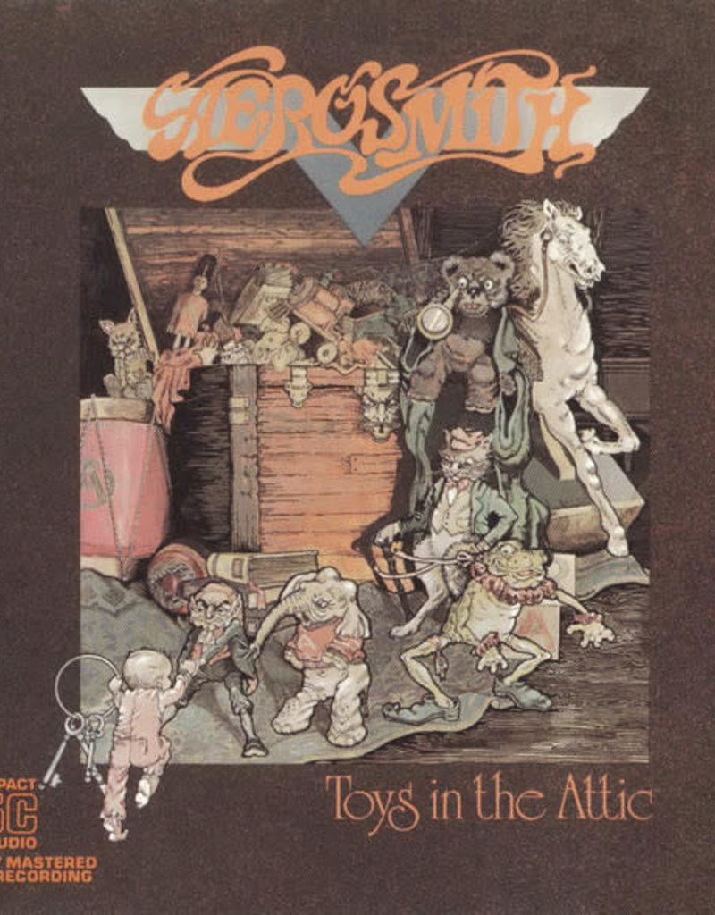 Used CD Aerosmith- Toys in the Attic