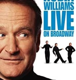 Used DVD Robin Williams Live On Broadway