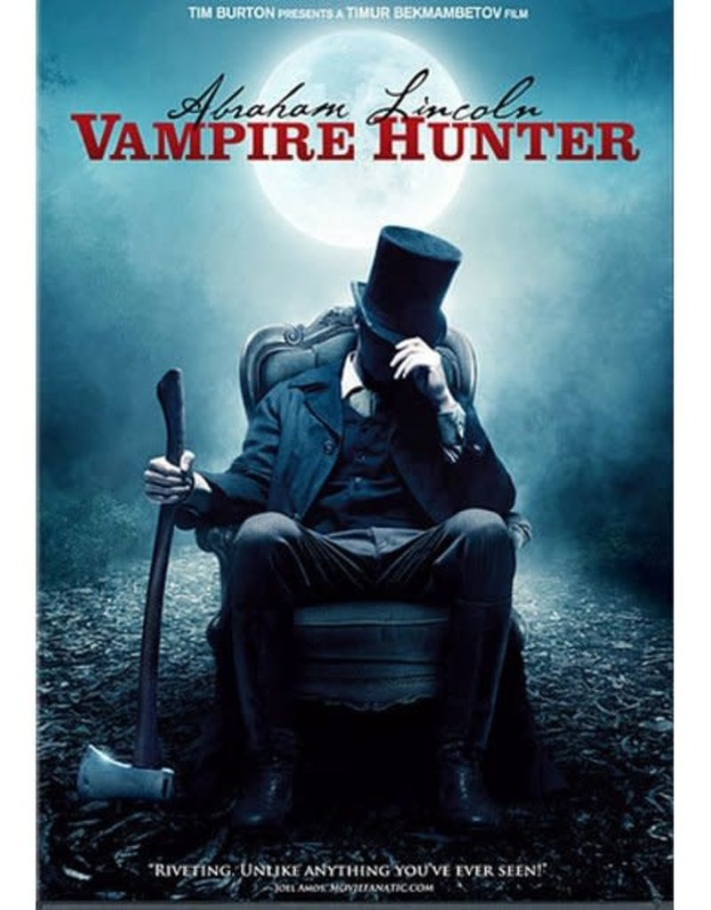 Used DVD Abraham Lincoln Vampire Hunter