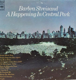 Used Vinyl Barbra Streisand- A Happening In Central Park