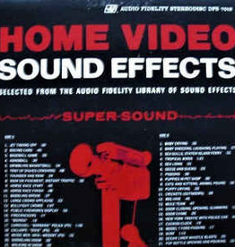 Used Vinyl Home Video Sound Effects
