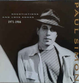 Used Vinyl Paul Simon- Negotiations And Love Songs 1971-1986 (SEALED)