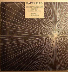 """Used Vinyl Radiohead- Good Evening Mrs. Magpie (Modeselektor RMX)/ Bloom (Objekt RMX) (12"""") (SEALED)"""