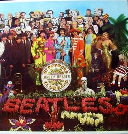 Used Vinyl The Beatles- Sgt Peppers Lonely Hearts Club Band