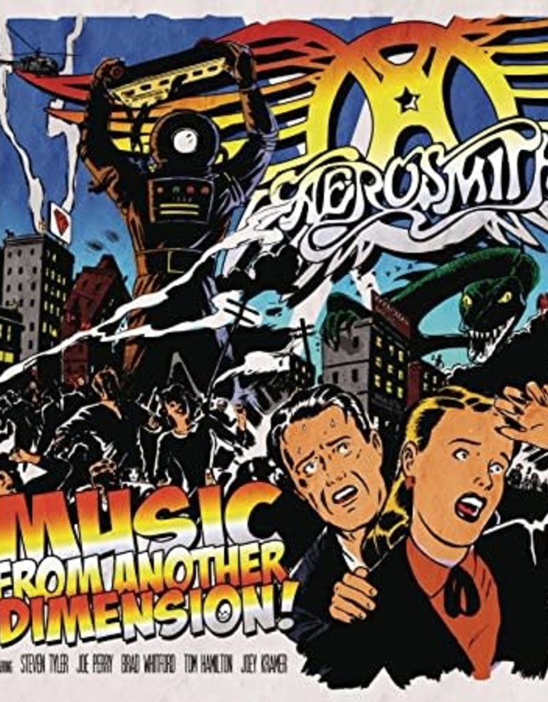 Used CD Aerosmith- Music From Another Dimension