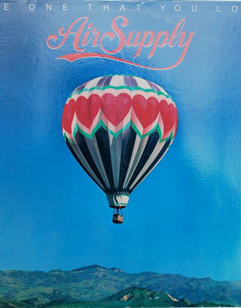 Used Vinyl Air Supply- The One That You Love