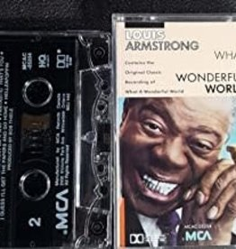 Used Cassettes Louis Armstrong- What A Wonderful World