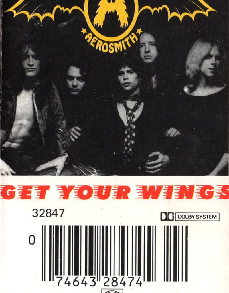 Used Cassettes Aerosmith- Get Your Wings