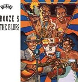 Used CD Various- Booze & The Blues