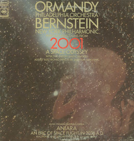 """Used Vinyl Eugene Ormandy- Selections From """"2001: A Space Odyssey"""" / Highlights From """"Aniara"""""""