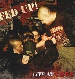 Used CD Fed Up- Live At CBGB