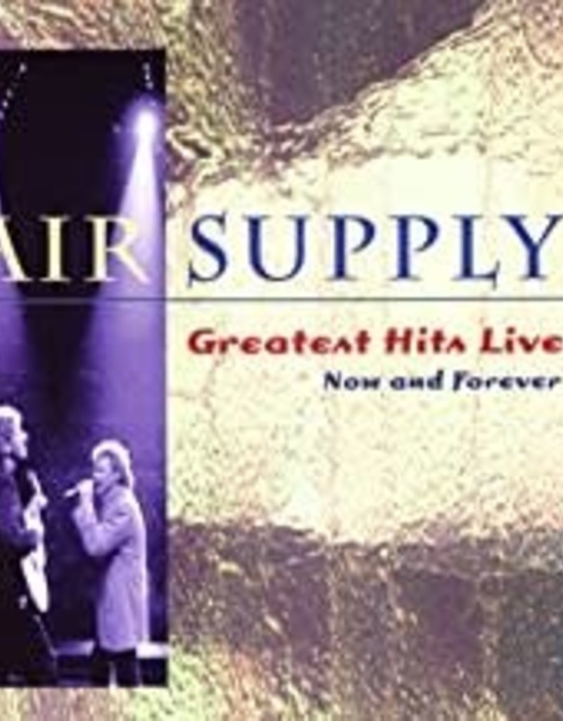 Used CD Air Supply- Greatest Hits Live... Now And Forever