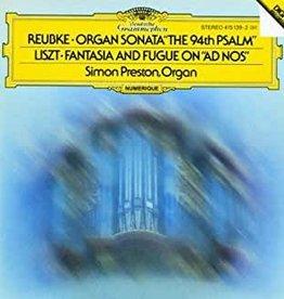 Used CD Reubke- Organ Sonata