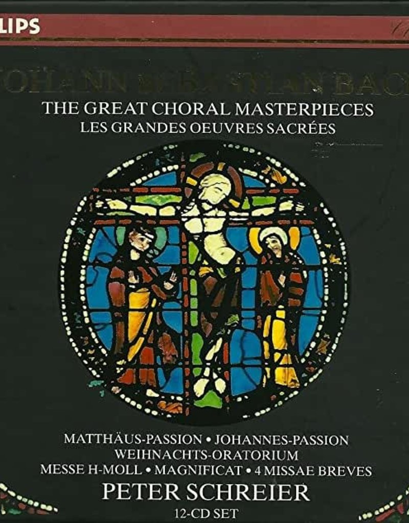 Used CD Bach- Great Choral Masterpiece (Peter Schreier) (12CD)