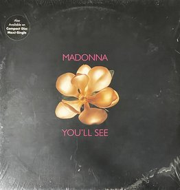 """Used Vinyl Madonna- You'll See (12"""")(Sealed)"""