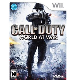 Wii Call of Duty World at War