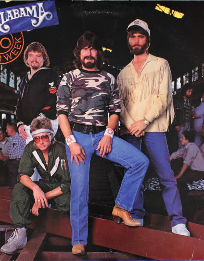 Used Vinyl Alabama- 40 Hour Week