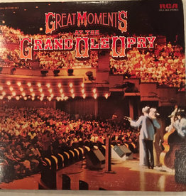 Used Vinyl Various- Great Moments At The Grand Ole Opery