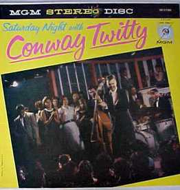 Used Vinyl Conway Twitty- Saturday Night With Conway Twitty