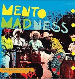 Used CD Various- Mento Madness: Motta's Jamaican Mento: 1951-56