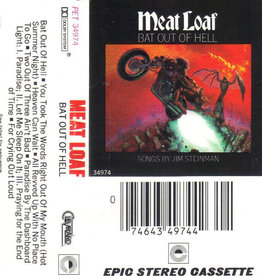 Used Cassettes Meat Loaf- Bat Out Of Hell