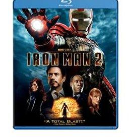 Used BluRay Iron Man 2