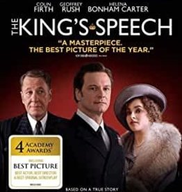 Used BluRay King's Spech