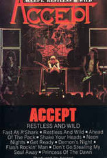 Used Cassettes Accept- Restless And Wild