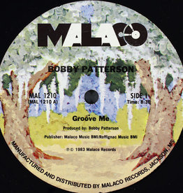 """Used Vinyl Bobby Patterson- Groove Me (12"""")"""